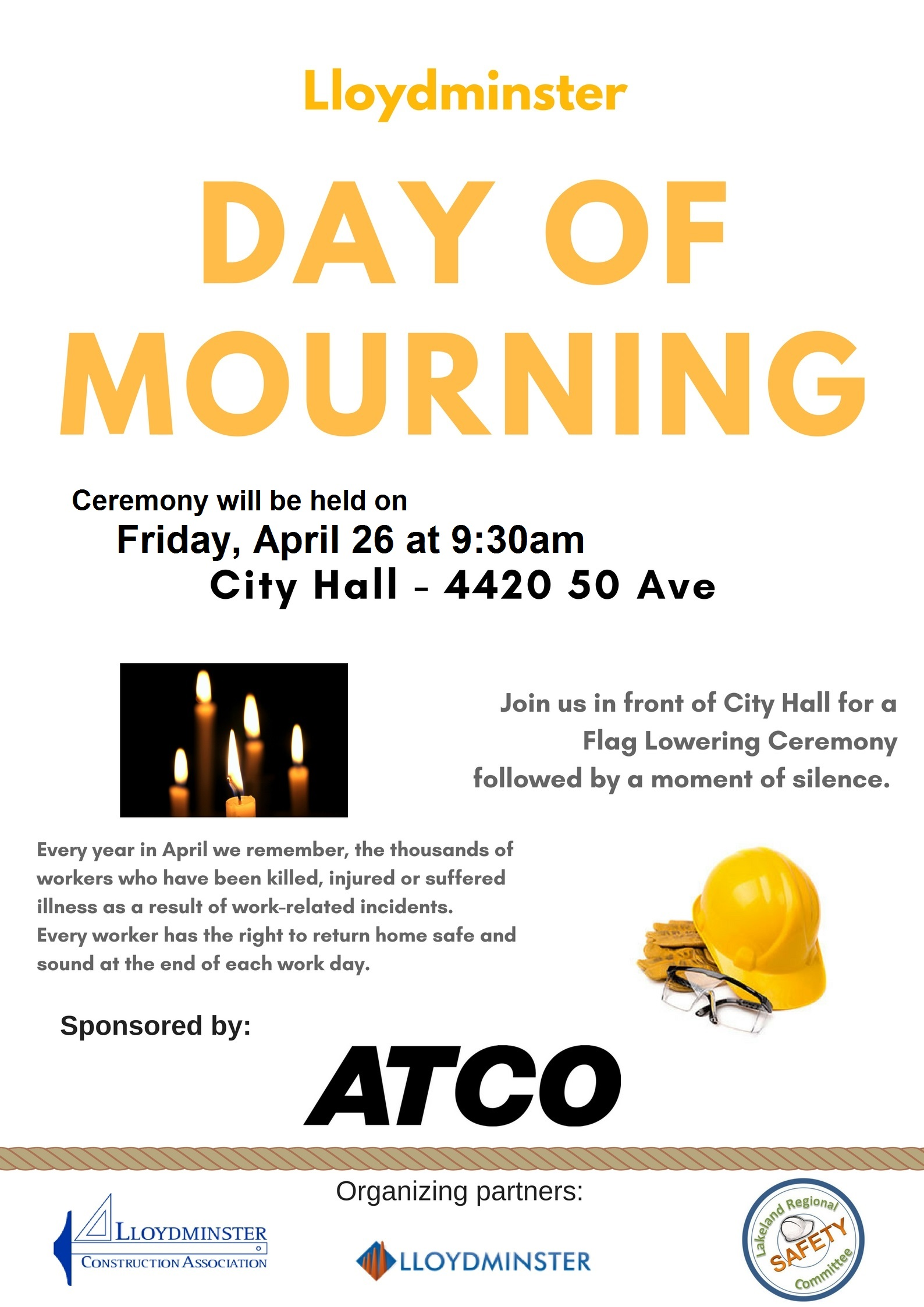 Day of Mourning 2019